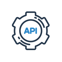 API hívás ikon