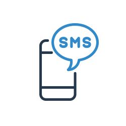 Sms küldés ikon